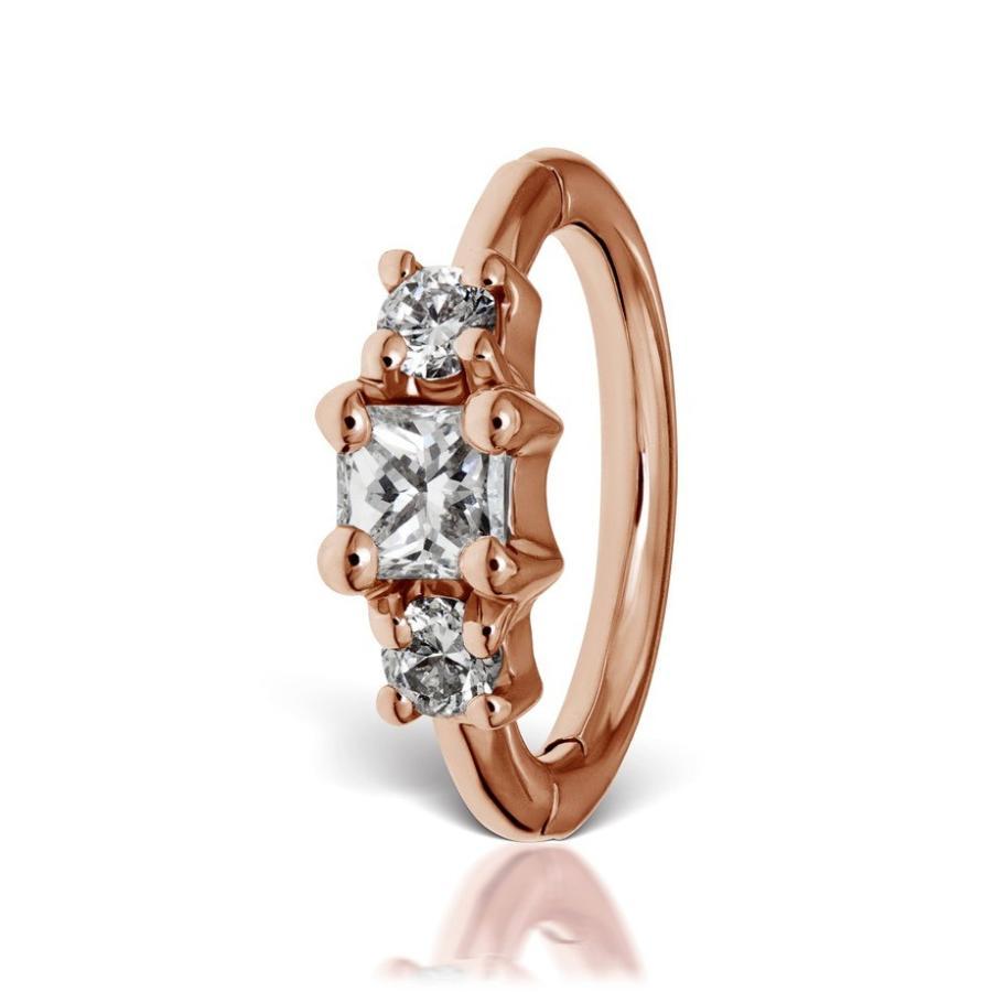 【メーカー再生品】 マリア・タッシュ レディース レディース ピアス・イヤリング Earring アクセサリー Maria Tash 6.5mm アクセサリー Diamond Princess Clicker Earring, 北上市:24b002d7 --- airmodconsu.dominiotemporario.com