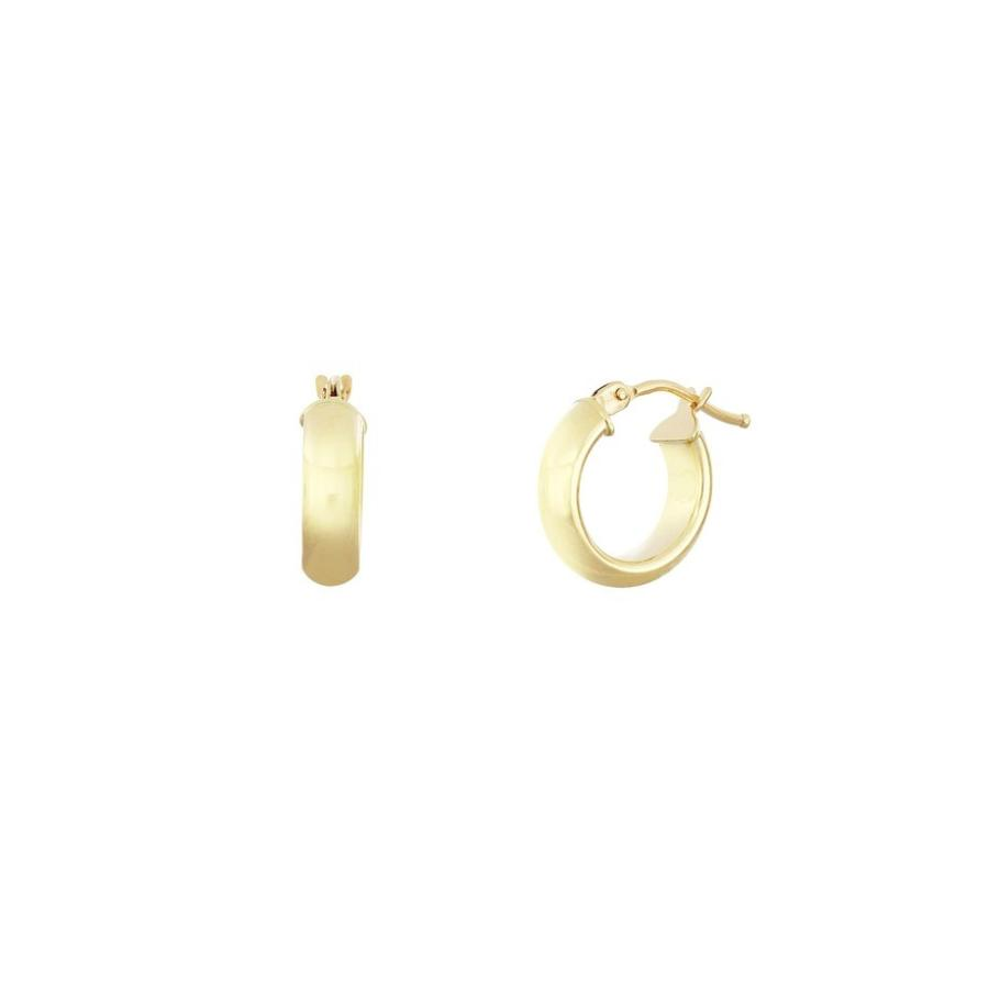2019超人気 ボニー レヴィ レディース ピアス・イヤリング アクセサリー Bony Levy Essentials 14K Gold Smooth Hoop Earrings (Nordstrom Exclusive), 人気が高い 2e277993