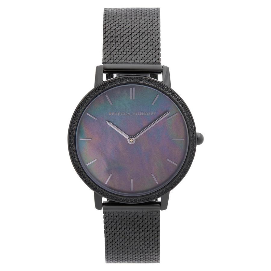 日本未入荷 レベッカミンコフ レディース 腕時計 アクセサリー Rebecca Minkoff Major Mesh Strap Watch, 35mm, FrouFrou 1dff1874