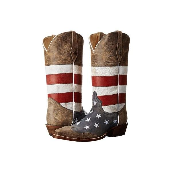 ローパー メンズ ブーツ・レインブーツ シューズ American Flag Snip Toe