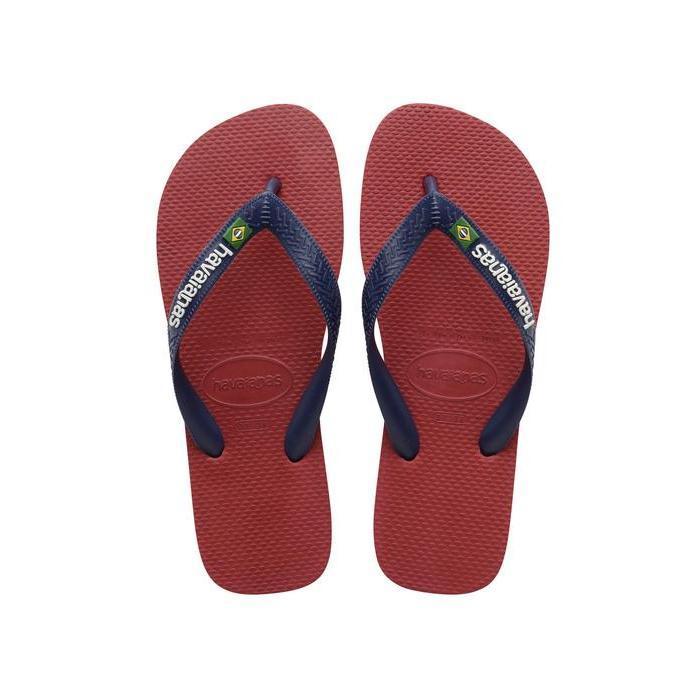 ハワイアナス レディース サンダル シューズ Brasil Logo Unisex Flip Flops