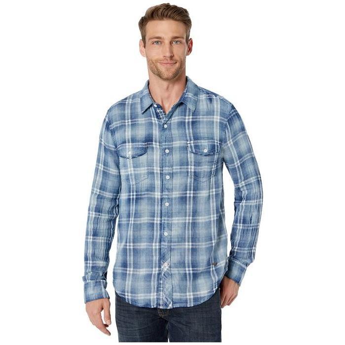 最も  トゥルーグリット Long メンズ シャツ トップス Route トップス 66 Double Weave Winslow シャツ Long Sleeve Two-Pocket Shirt, ヤマトマチ:67721b9f --- sonpurmela.online