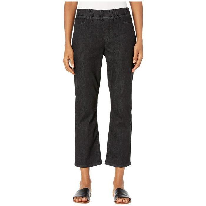 【即日発送】 エイリーンフィッシャー Denim レディース デニムパンツ ボトムス Organic Cotton Slim Soft Stretch Denim Vintage Slim Jeans in Vintage Black, 足湯 フットバス 通販はスパテクノ:a3f45990 --- chizeng.com