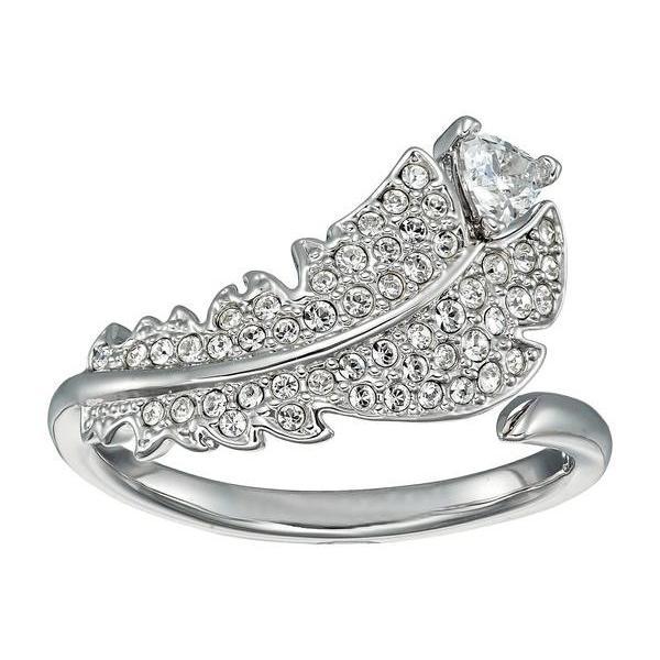 非売品 スワロフスキー レディース リング アクセサリー Naughty or Nice Collection Nice Simple Ring, 帽子屋dreamhats ada43236