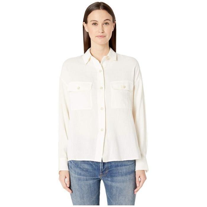 ファッション ヴィンス レディース シャツ レディース トップス Utility Utility シャツ Shirt, JAPANESQUE:36ec480b --- levelprosales.com