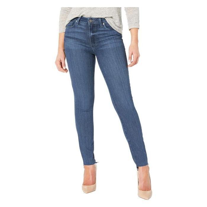 ペイジ レディース デニムパンツ ボトムス Hoxton Ankle Jeans w/ Undone Step Hem in Amaya