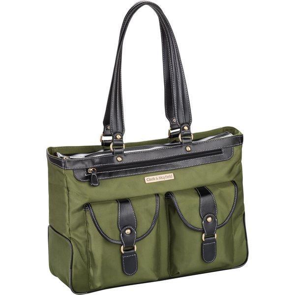 クラークアンドメイフィールド メンズ スーツケース バッグ Marquam Laptop Handbag 18.4