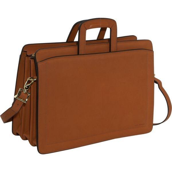 ジャックジョージス メンズ スーツケース バッグ Belting Collection Triple Gusset Top Zip Briefcase