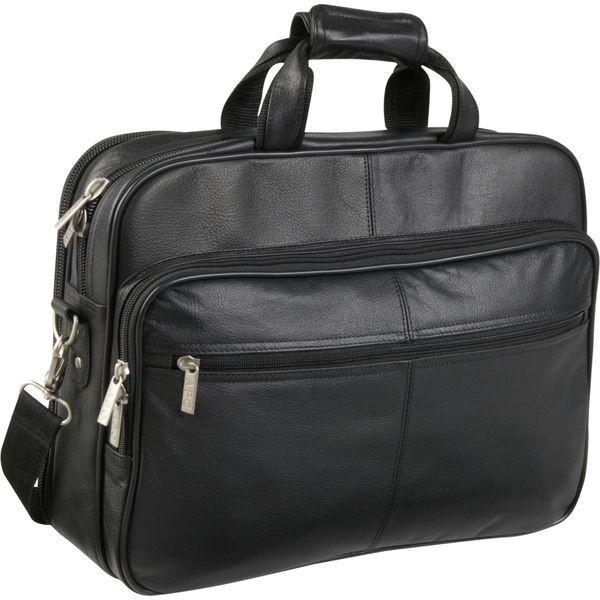 アメリ メンズ スーツケース バッグ Genuine Laptop Softside Briefcase