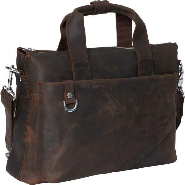 ヴァガボンドトラベラー メンズ スーツケース バッグ 15.5 Leather Business Case