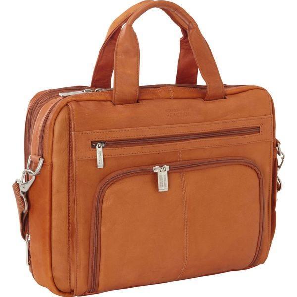 ケネスコール メンズ スーツケース バッグ Colombian Leather RFID Laptop Portfolio - EXCLUSIVE