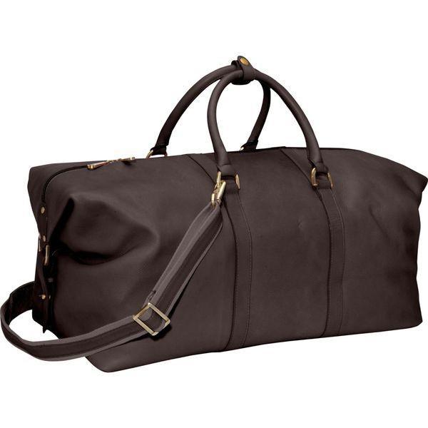 クレバ メンズ スーツケース バッグ Leather 21 Cabin Duffel