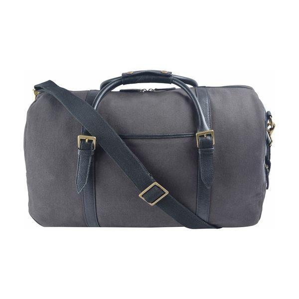 ハイデザイン メンズ スーツケース バッグ Charles Leather Cabin Travel Duffle Weekend Bag