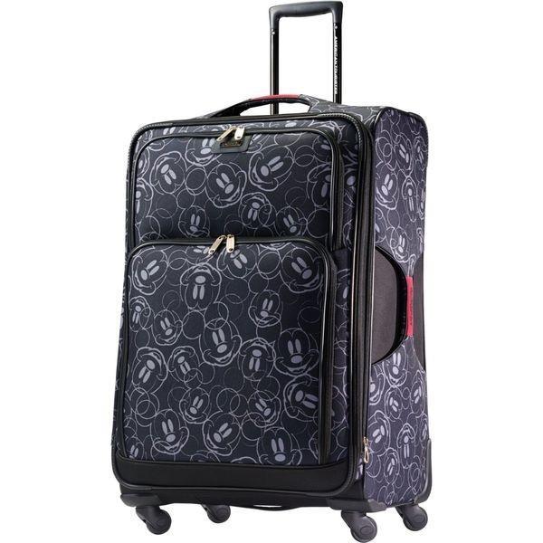 お買い得モデル アメリカンツーリスター メンズ スーツケース バッグ Disney Mickey Mouse Softside Spinner 28, フキアゲマチ ceb7f7d9