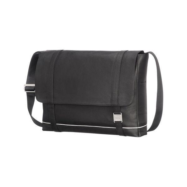 モレスキン メンズ スーツケース バッグ Lineage Leather Messenger Bag