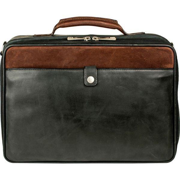 スカーリー メンズ スーツケース バッグ Two Tone Hand Stained Calf Leather Travel Bag