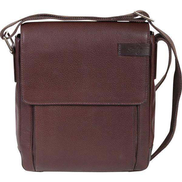スカーリー メンズ スーツケース バッグ Sierra Leather Shoulder Tote Workbag