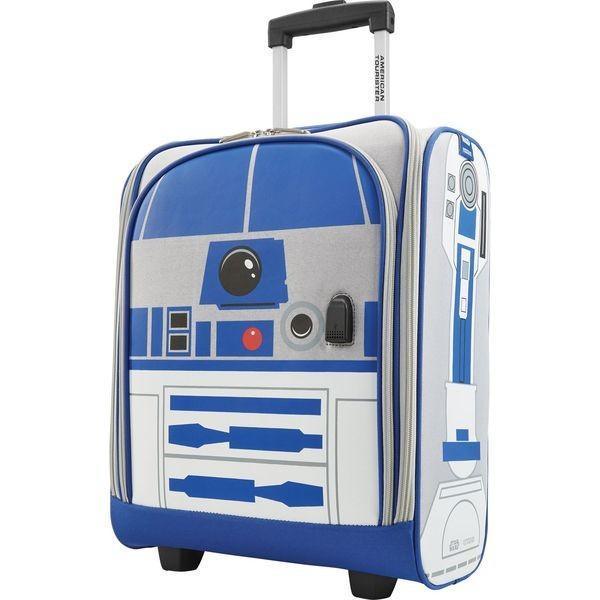 アメリカンツーリスター メンズ スーツケース バッグ Star Wars R2D2 16.5 Rolling Underseater