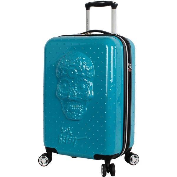 ベッツィジョンソン メンズ スーツケース バッグ Sugar Skull 20 Expandable Hardside Carry-On Spinner