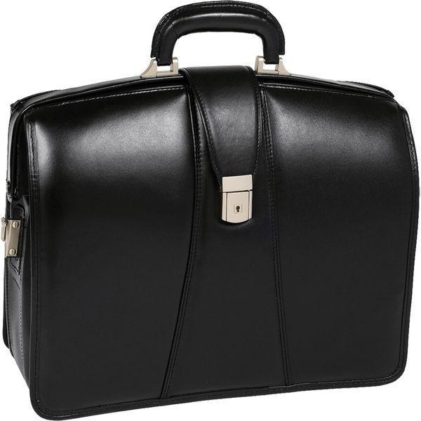 マックレイン メンズ スーツケース バッグ Harrison Leather 15.6 Laptop Partner's Brief