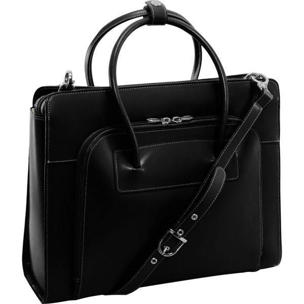 マックレイン レディース スーツケース バッグ W Series Lake Forest Leather Women's 15 Laptop Case