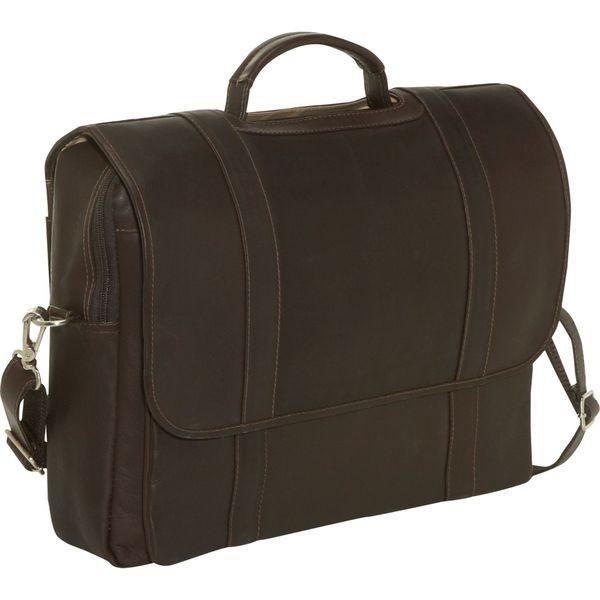 ピエール メンズ スーツケース バッグ Traditional Flap Laptop Portfolio