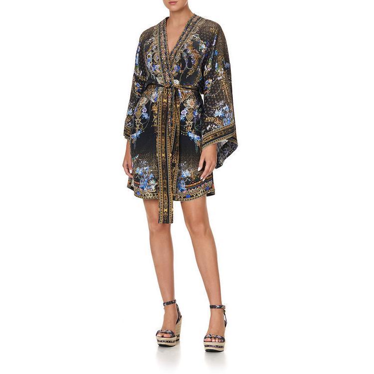 キャミラ レディース ジャンプスーツ トップス Belted Baroque Coverup Kimono