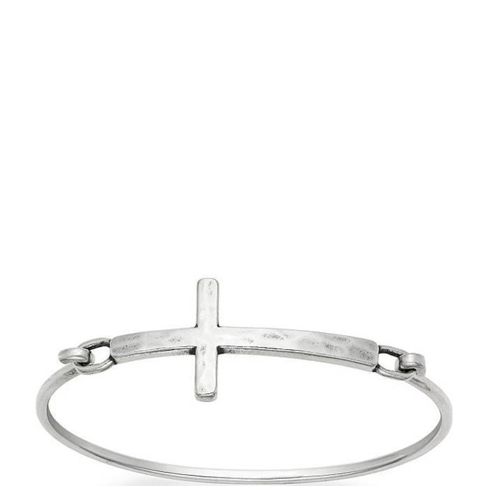 専門ショップ ジェームズ エイヴリー レディース Hook-On ブレスレット・バングル Cross・アンクレット アクセサリー Horizon Cross Hook-On Bracelet, ミカモチョウ:53e60725 --- levelprosales.com