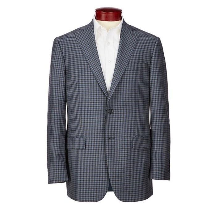 【人気商品!】 ハート シャフナー マルクス メンズ ジャケット・ブルゾン アウター ハート Classic Sportcoat マルクス Fit Checked Wool Sportcoat, 美嚢郡:94ba6b85 --- levelprosales.com