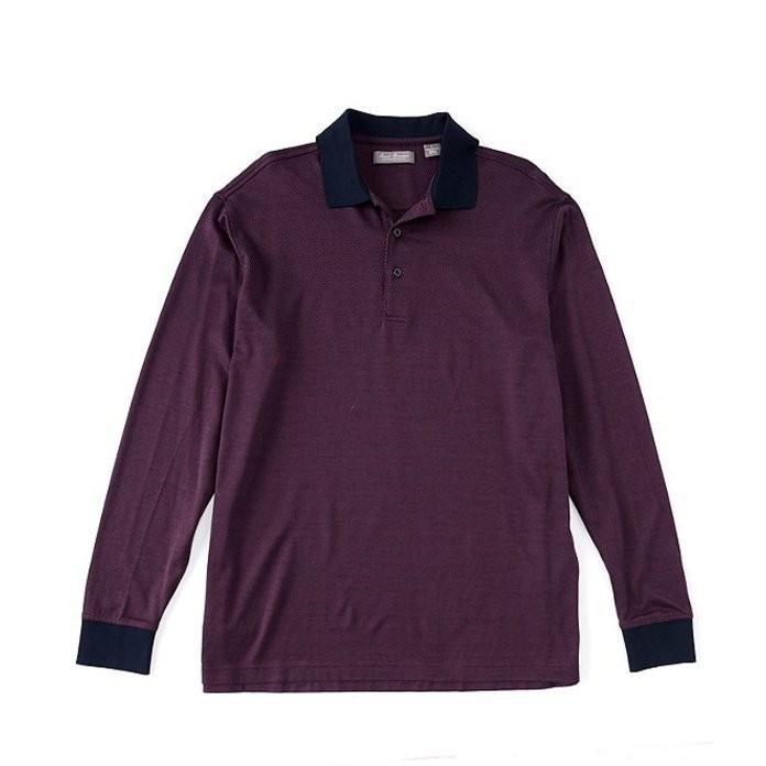 早割クーポン! ダニエル クレミュ Daniel メンズ Polo ポロシャツ トップス Daniel ポロシャツ Cremieux Signature Stripe Long-Sleeve Polo Shirt, ワキノサワムラ:f388c72c --- chizeng.com