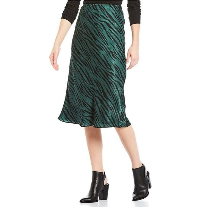 肌触りがいい ジービー レディース スカート ボトムス Zebra High Waist Midi Skirt, 濱の酒屋 中野酒店 85546708
