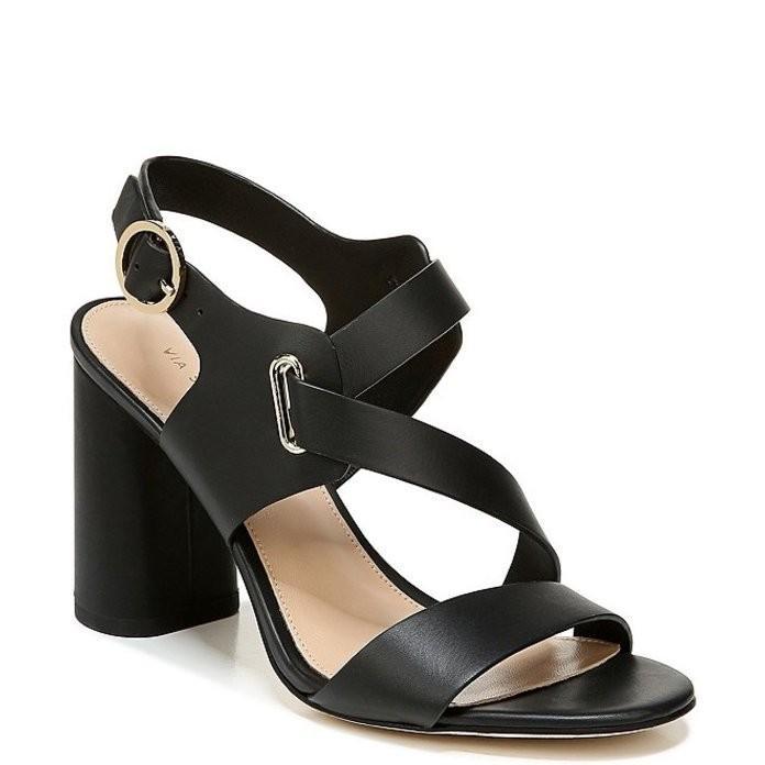2019年激安 ヴィアスピガ レディース サンダル シューズ Hyria Hyria サンダル Leather シューズ Block Heel Dress Sandals, ノセガワムラ:621d8876 --- theroofdoctorisin.com