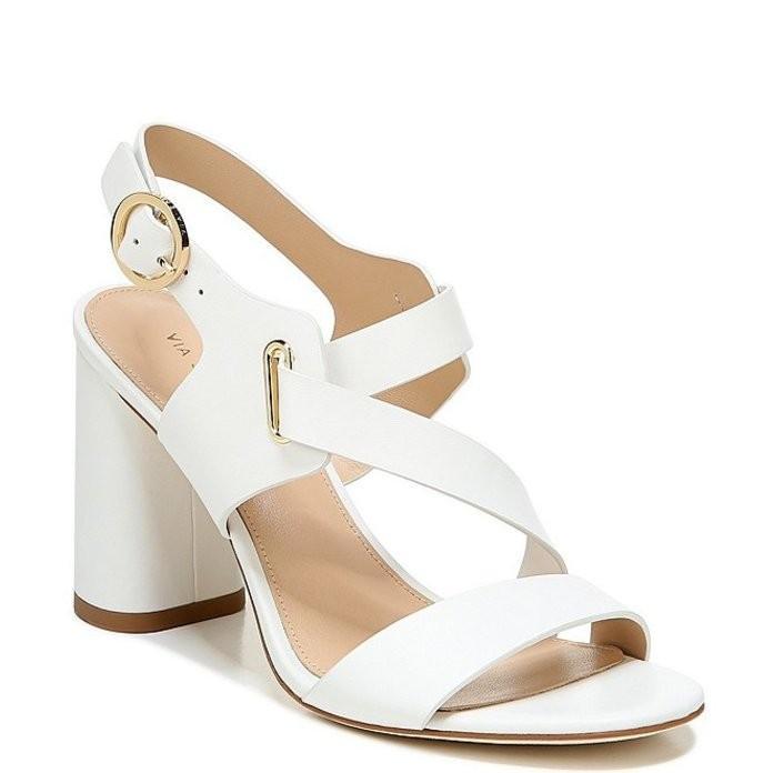 素晴らしい ヴィアスピガ レディース レディース サンダル シューズ Block Hyria シューズ Leather Block Heel Dress Sandals, タキグン:253708f6 --- theroofdoctorisin.com