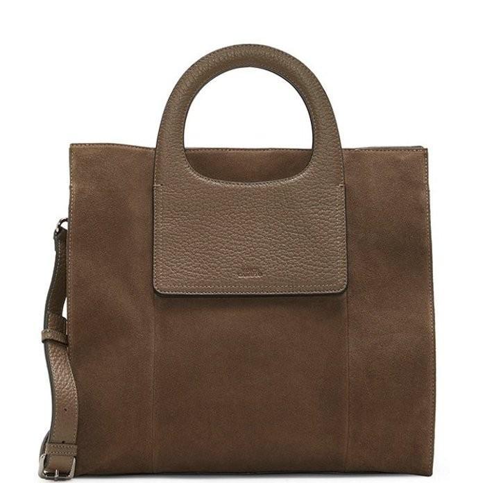 【お気にいる】 ヴィンスカムート レディース ショルダーバッグ バッグ Beck Suede Leather Tote Bag, 大麦工房ロア 134d2989
