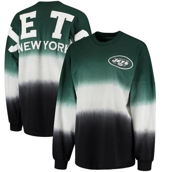 ファナティクス ブランデッド レディース Tシャツ トップス New York Jets NFL Pro Line by Fanatics Branded Women's Spirit Jersey Long Sleeve