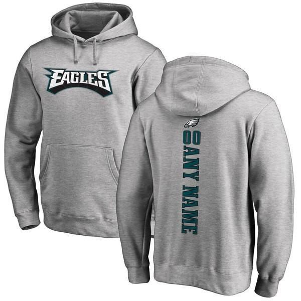 ファナティクス ブランデッド メンズ パーカー・スウェット アウター Philadelphia Eagles NFL Pro Line Personalized Backer Pullover Hoodie