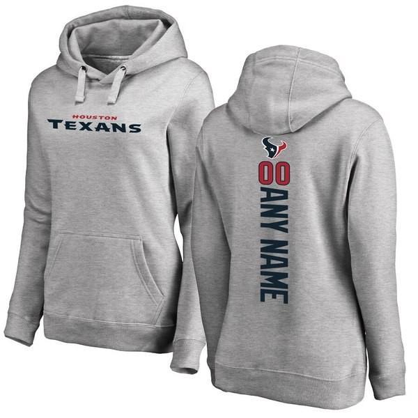 ファナティクス ブランデッド レディース パーカー・スウェット アウター Houston Texans NFL Pro Line Women's Personalized Backer Pullover Hoodie