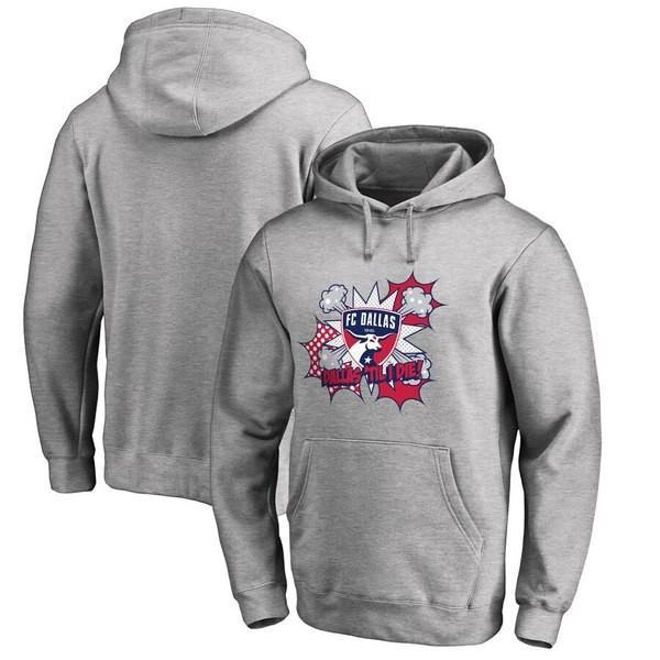 ファナティクス ブランデッド メンズ パーカー・スウェット アウター FC Dallas Fanatics Branded Pop Pullover Hoodie