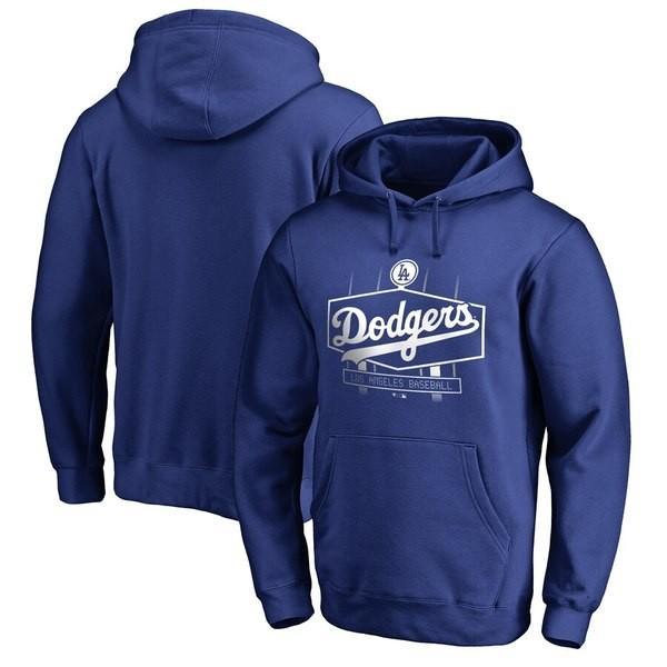 ファナティクス ブランデッド メンズ パーカー・スウェット アウター Los Angeles Dodgers Fanatics Branded Hometown Scoreboard Pullover Hoodie