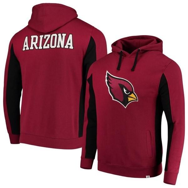 ファナティクス ブランデッド メンズ パーカー・スウェット アウター Arizona Cardinals NFL Pro Line by Fanatics Branded Team Iconic Pullover Hoodie