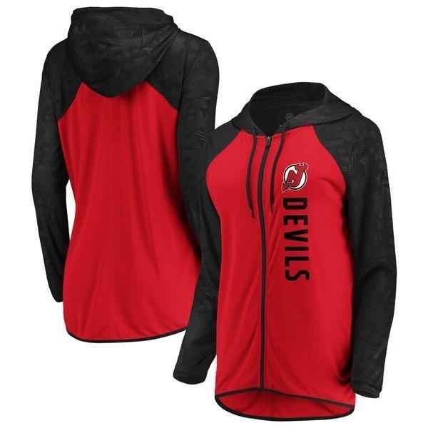 低価格 ファナティクス ブランデッド レディース Jersey ジャケット・ブルゾン アウター New Forever Fan Jersey Devils Fanatics Branded Women