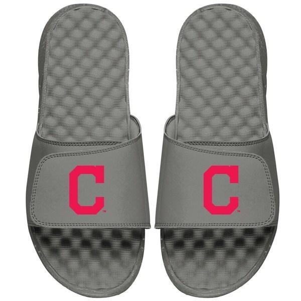 新版 アイスライド メンズ Cleveland サンダル シューズ Slide Cleveland Indians ISlide Primary Logo Logo Slide Sandals, ヒナセチョウ:69fcbc76 --- toyology.co.uk