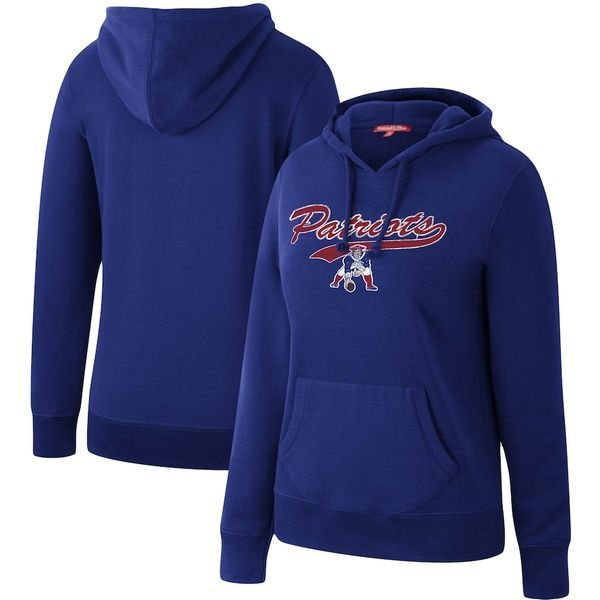 ミッチェル&ネス レディース パーカー・スウェット アウター New England Patriots Mitchell & Ness Women's Winning Team Pullover Hoodie