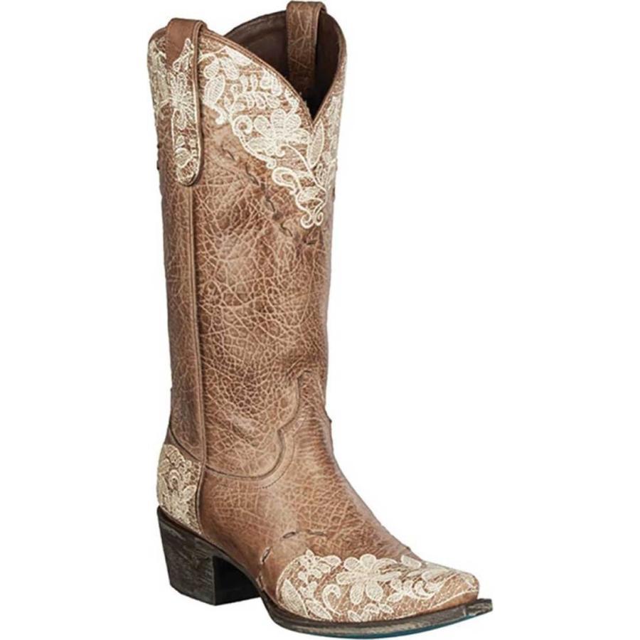 【人気ショップが最安値挑戦!】 レーンブーツ レディース ブーツ・レインブーツ シューズ Jeni Lace Cowgirl Boot, ブランド古着の買取販売 WanBoo 670d273c