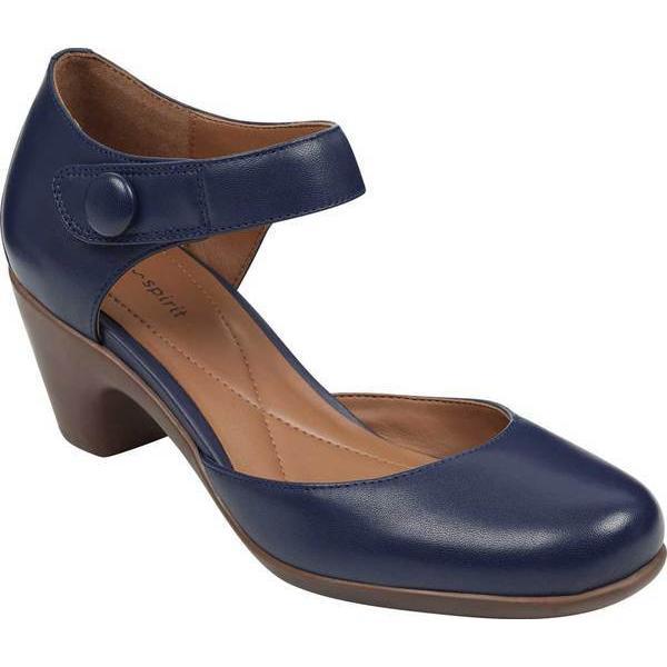 【おすすめ】 イージースピリット レディース ヒール シューズ Clarice Ankle Strap Heel, ミタガワチョウ 6073428b