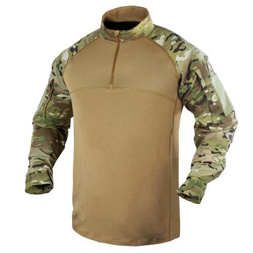 CONDOR コンバットシャツ 101065 [ マルチカム / Sサイズ ] ミリタリーシャツ 長袖シャツ ロングTシャツ アーミーシャツ