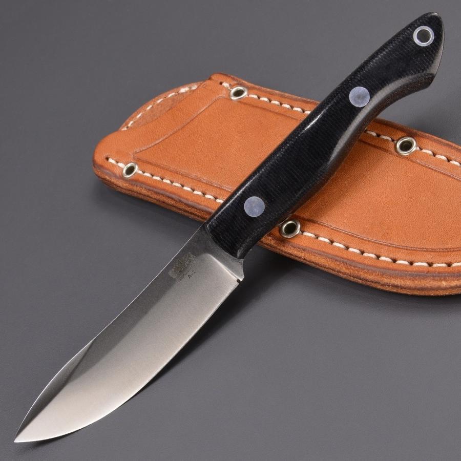 バークリバー ハンティングナイフ カラハリ ブラックキャンバス BARK RIVER スキナー 狩猟 解体用 スキニングナイフ サバイバルナイフ
