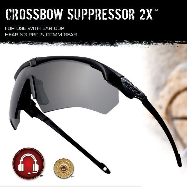 ESS サングラス クロスボウ サプレッサー2X 740-0451 タクティカル740-0451 | クロスボー Crossbow メンズ スポーツ