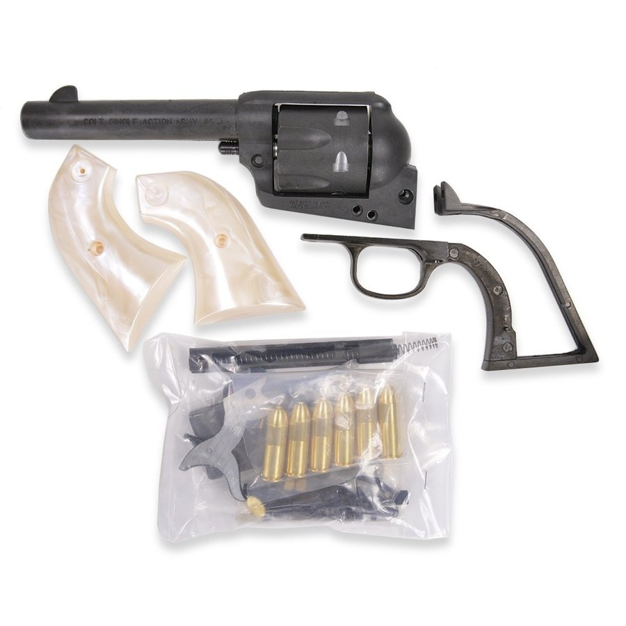 ハートフォード 発火式モデルガン SAA45 シビリアンHW 組み立てキット HWS DENIX レプリカ アンティーク銃 西洋銃