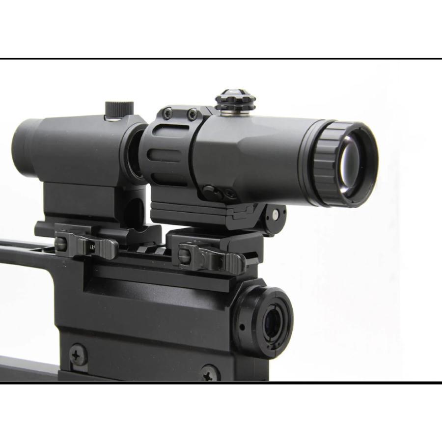ノーベルアームズ マグニファイアー 3倍固定 NOVEL ARMS N-54 3× タクティカル マグニファイヤー ブースター 拡大鏡